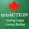 ecoACTION – Using Less – Living Better.